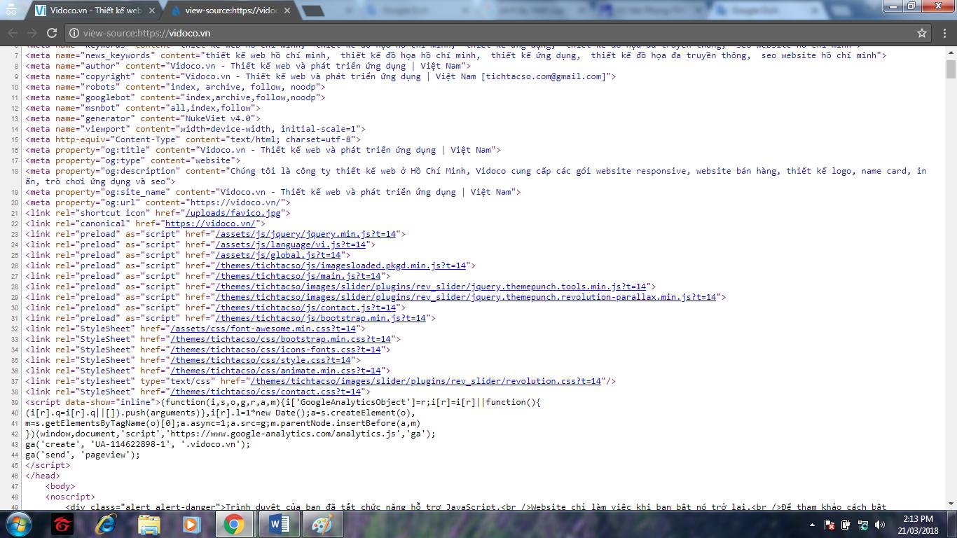 Bước 2 cách lấy html