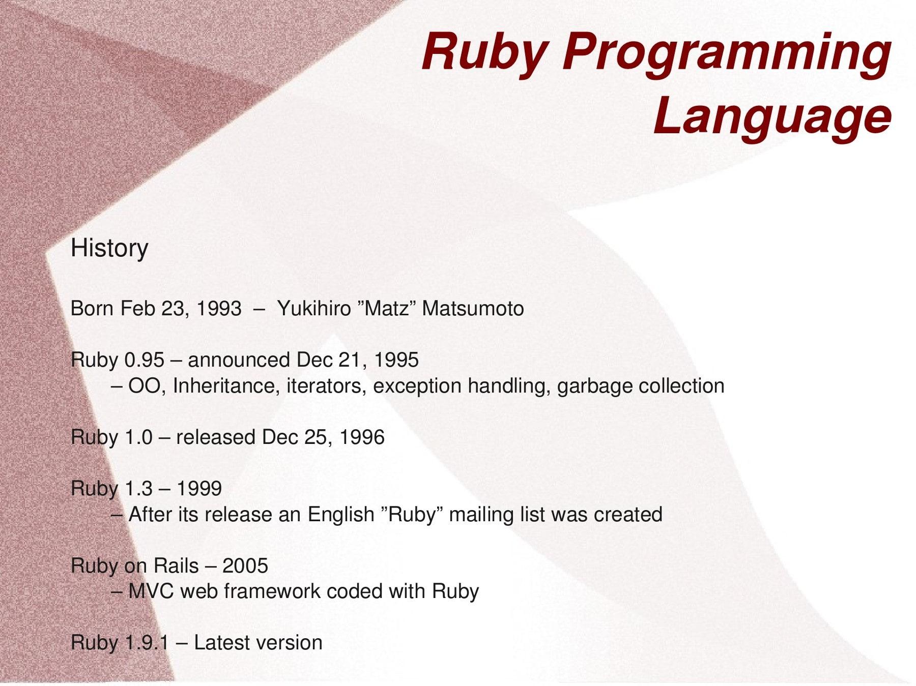 Ngôn ngữ lập trình web