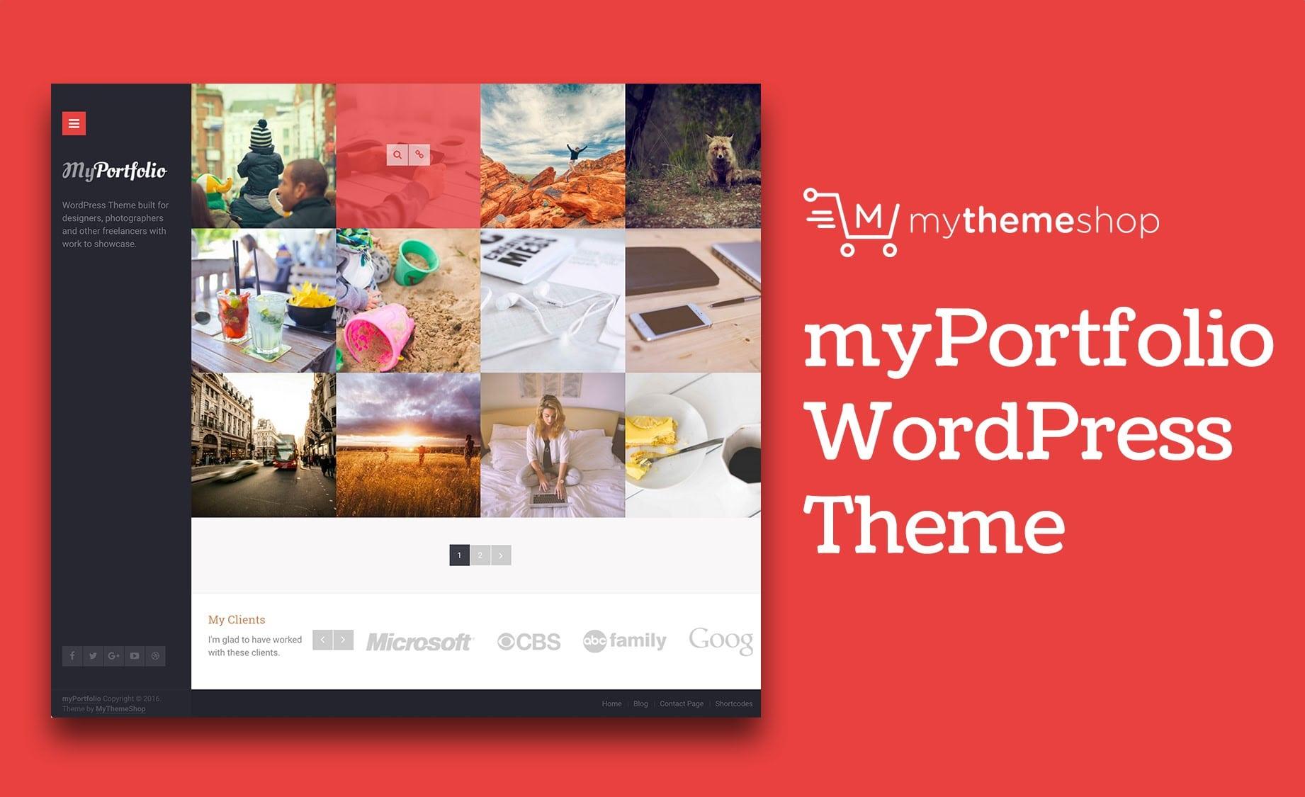 myPortfolio - Premium WordPress Portfolio Theme @ MyThemeShop