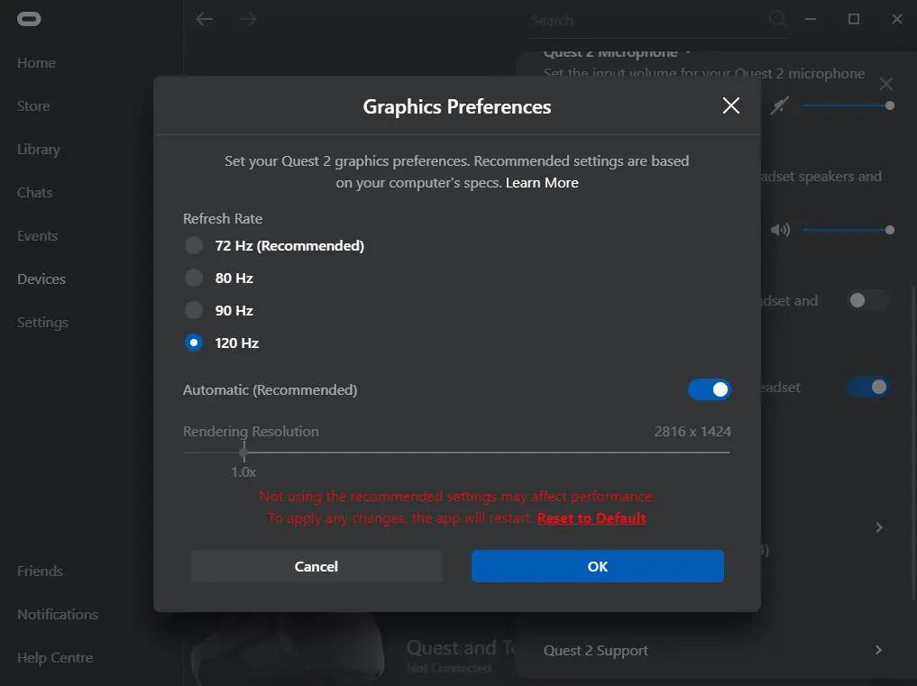 Cách phát nội dung VR từ PC lên Oculus Quest 2